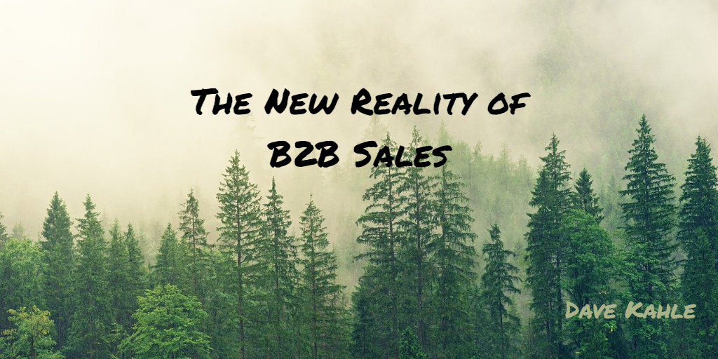 The New Reality of B2B Sales
